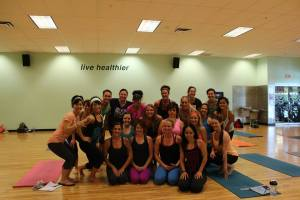 Awesome group of future PiYo instructors!